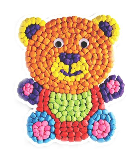 Happy Kidz Art & Craft Toys Paper Crumpling Craft Kit