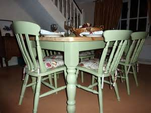 kitchen table furniture pine farmhouse kitchen table with 6 chairs painted vintage