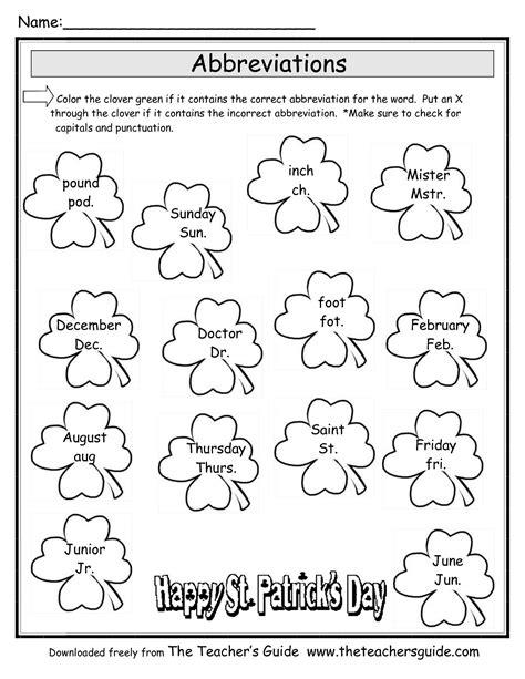 st patrick s day lesson plans themes printouts crafts