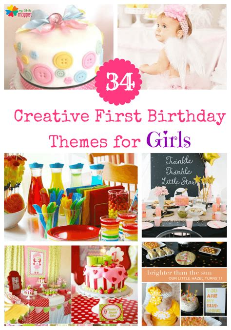 girl 1st birthday party themes 34 creative girl birthday party themes ideas my