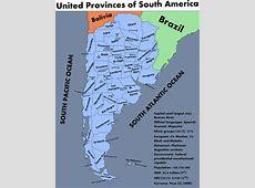 Argentina History Map