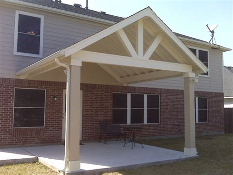 superb covered patio plans 9 gt gable roof patio cover