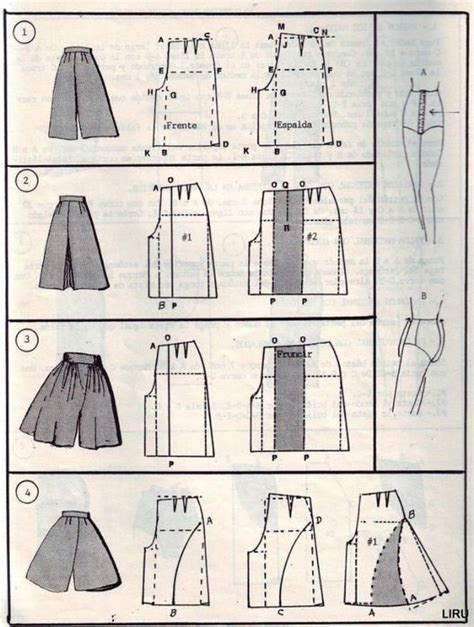 Transform Skirt To Culottes Pattern  Fashion Design