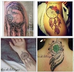 Tatouage Attrape Reve Homme : tatouage attape reve bras aigle haut cuisse couleur ~ Melissatoandfro.com Idées de Décoration