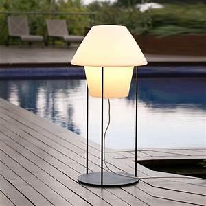 Lampadaire D Extérieur : lampadaire d 39 ext rieur versus blanc h124cm faro ~ Edinachiropracticcenter.com Idées de Décoration