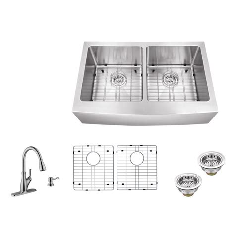 c tech sinks distributors ipt sink company apron front 33 in 16 gauge stainless
