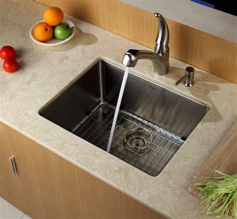 Kraus KHU10123 23 Inch Undermount Single Bowl Kitchen Sink