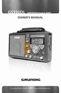 Download Free Pdf For Eton E5 Radio Manual