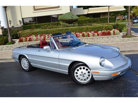 1991 Alfa Romeo Spider For Sale by 1991 Alfa Romeo Spider Veloce For Sale