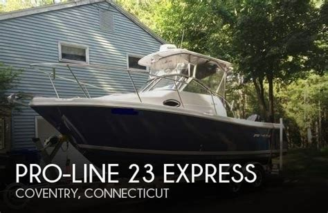 Proline Boats For Sale Ct by Pro Line 23 Express For Sale In Coventry Ct For 43 400