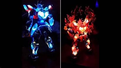 Gundam Burning Custom Try Build Wallpapers Background