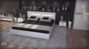 Lit Tv Intégré : lit design lys avec clairage int gr 889 00 ~ Teatrodelosmanantiales.com Idées de Décoration