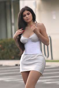 kylie jenner  short dress   beverly hills gotceleb