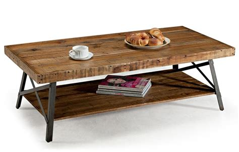 Coffee Tables : Oak Long Rustic Coffee Table