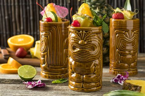 tiki drinks 5 recipes for tropical rum drinks from new tiki cocktail books