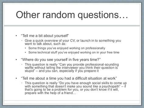 prepare   survive  technical interview