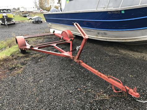 Drift Boats For Sale Eugene Oregon by Used Home Built Drift Boat Trailer For Sale Koffler Boats