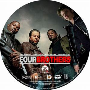 Four Brothers - Custom DVD Labels - Four Brothers CD1 ...