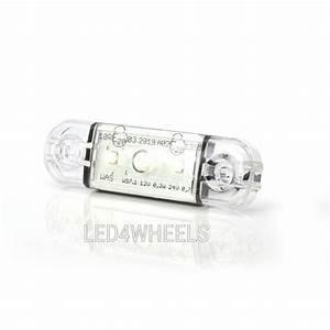 Lampen 24 Volt : led markeringslamp wit ultra plat 12 24 volt markerings ~ Jslefanu.com Haus und Dekorationen