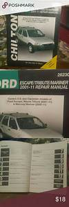 Ford Escape  Tribute  Mariner Repair Manual Vintage Ford