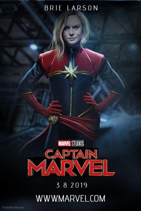 Captain Marvel Teaser Poster By Enginegear On Deviantart