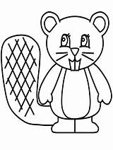Beaver Coloring Pages Coloringpages1001 sketch template
