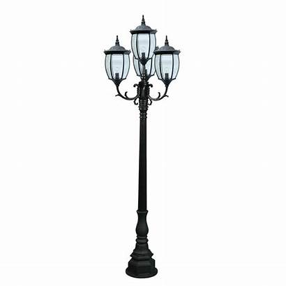 Outdoor Lights Lighting Lamp Victorian Pole Commercial