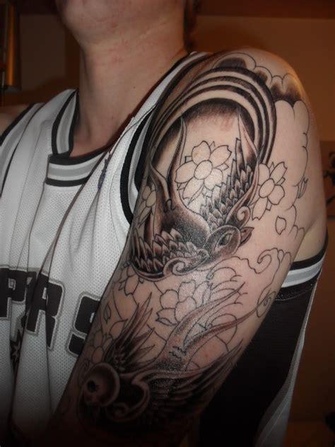 japanese cloud pattern tattoo