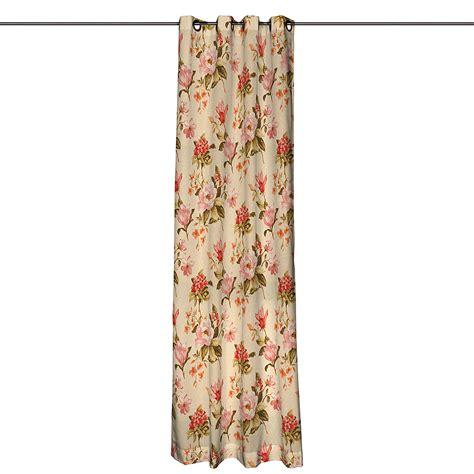 Vorhänge Mit ösen by Vorhang Mit 214 Sen Blumen Gro 223 Beige 130x260cm 214 Senschal