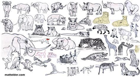 african animals nursery mural painting  art  matt