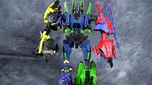 Combaticons - Fall of Cybertron Deluxe Class - YouTube