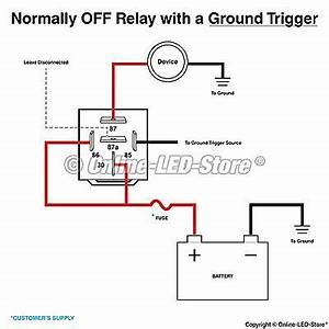 5 pack ols 12v 60 80 amp relay switch harness set 5 pin With spdt relay 12v pdf