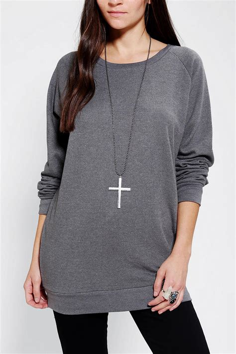 lyst urban outfitters sparkle fade pullover tunic