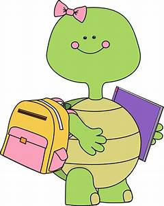 Cute Girl Turtle Clipart - Clipart Suggest
