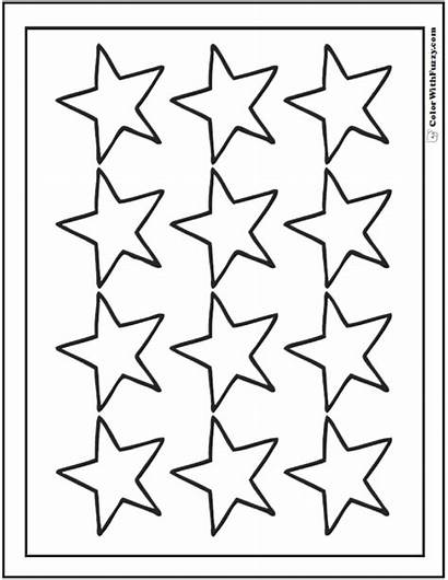 Coloring Star Stars Pages Twelve Sheet Printable