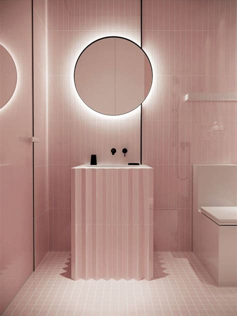 Light Pink Bathroom by 25 Ways To Incorporate Pink Into Bathroom Decor Digsdigs