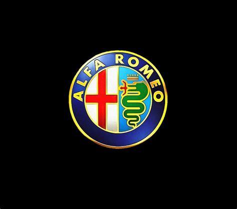 alfa romeo logo digital art  dazzle fillinheart