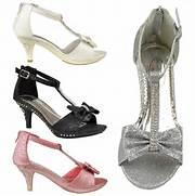 Heel Dress Sandals...