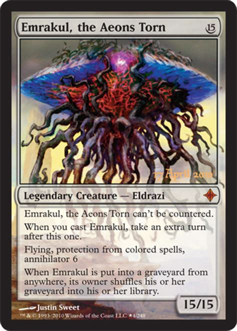 rise of the eldrazi prerelease card magic the gathering