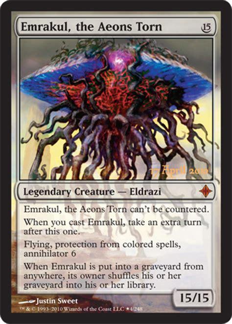 rise of the eldrazi prerelease card magic the gathering