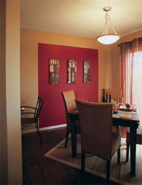 sherwin williams red tomato sw 6607 accent wall paint