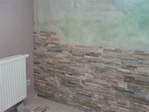 Pierre De Parement Intérieur : bricolage de l 39 id e la r alisation mur en parement pierre naturel beige ~ Melissatoandfro.com Idées de Décoration