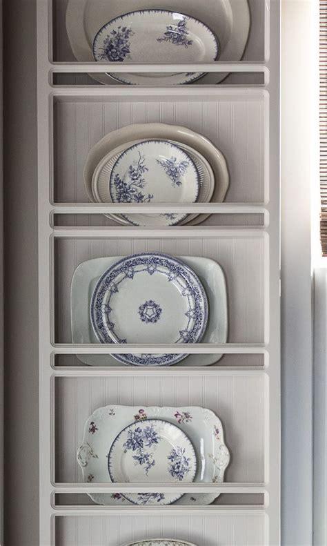adding bold color   home plates  wall plate rack wall decor