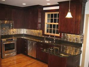 kitchen contemporary kitchen backsplash ideas with dark With kitchen cabinets lowes with light up wall art