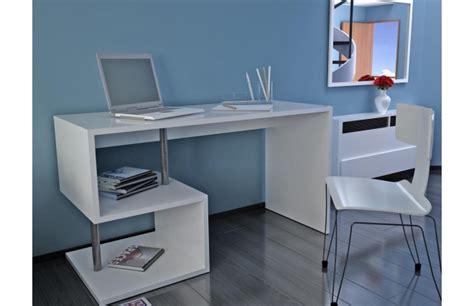 bureau blanc laqu bureau design laqué blanc maxime bureau miliboo ventes