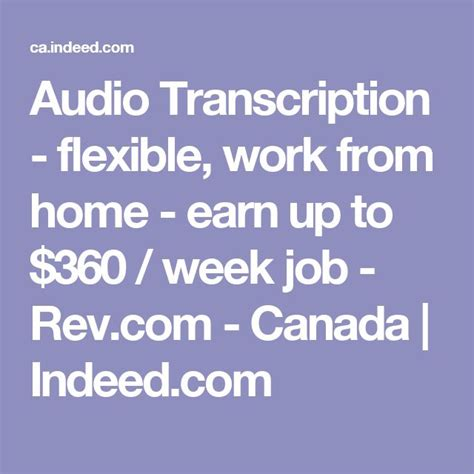 transcription from home m 225 s de 25 ideas incre 237 bles sobre trabajar desde casa canad 225 en pinterest canada online online