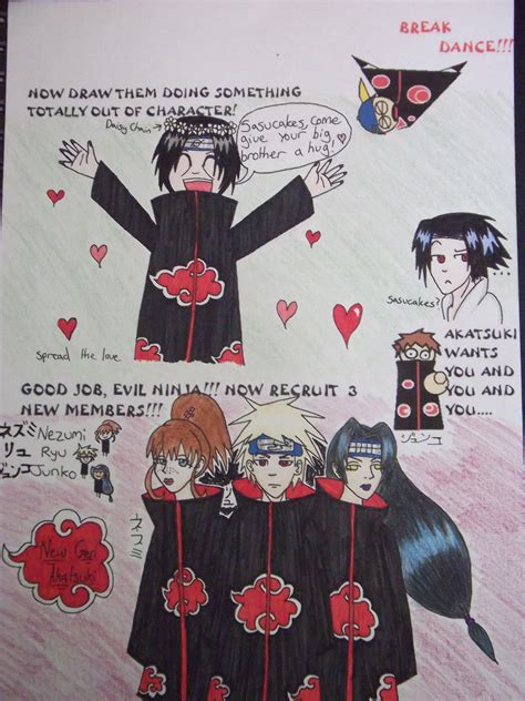 Akatsuki Memes - akatsuki meme pg 5 by brightredeyes on deviantart