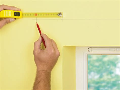 how to install a curtain rod on window casing how tos diy