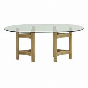 table basse rotin et verre ezooqcom With table jardin metal ronde pliante 17 table basse ovale knoll saarinen ezooq