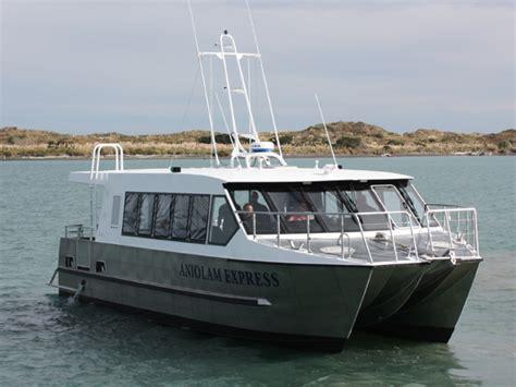 Passenger Catamaran Design by Aniolam Express Passenger Catamarans Teknicraft Design